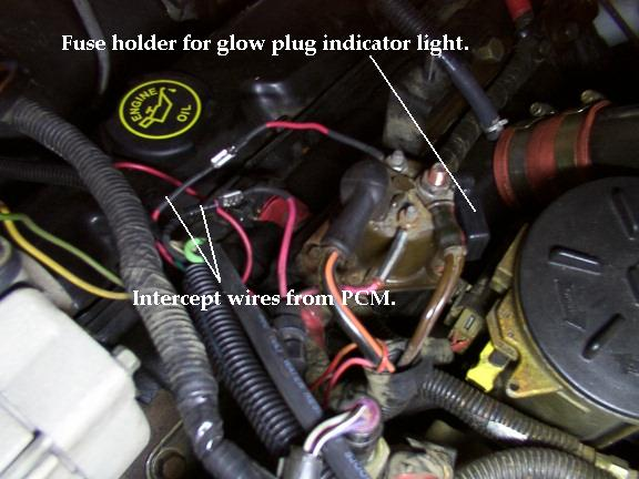 GPRByp2 home ford 7.3 glow plug relay wiring diagram at crackthecode.co